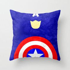 Captain America: Avengers Movie Variant Throw Pillow by TheLinC | Society6