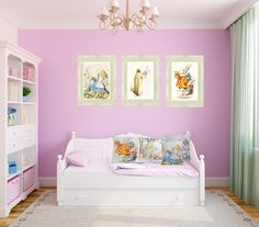 Alice in Wonderland Nursery... with a crib instead of a daybed