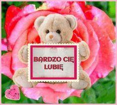 GIFY I OBRAZKI: LUBIE CIĘ Teddy Bear, Toys, Activity Toys, Clearance Toys, Teddy Bears, Gaming, Games, Toy, Beanie Boos