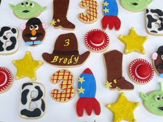 Biscoitos Toy Story