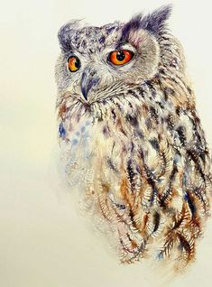 Buy Watchful Owl, Watercolor by Arti Chauhan on Artfinder. Discover thousands of other original paintings, prints, sculptures and photography from independent artists.