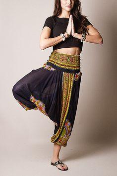 Raja Harem Yoga Pants by Sivana