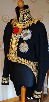 Grande tenue de general de divisions , a servi, à Austerlitz, Borodino and Waterloo.