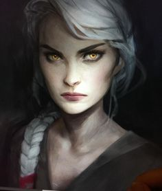 Obsessed with Charlie Bowater. Manon is portrayed perfectly in this painting, if only I wasn't a broke bitch I could buy her posters. *sighs*