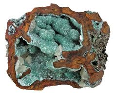 adamite and calcite