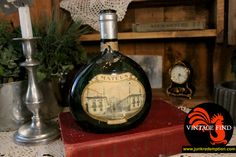 Vintage Mateus Rose wine bottle