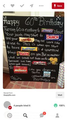ideas birthday poster funny for 2019 60th Birthday Cards, Happy 60th Birthday, 90th Birthday Parties, Birthday Fun, 60th Birthday Ideas For Women, 60th Birthday Ideas For Dad, 60th Birthday Party Decorations, Birthday Wishes, Birthday Message