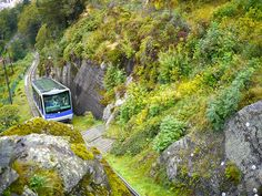 Floibanen: Funicular, Bergen, Norway