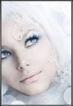 Fairy Makeup Fantasy Makeup wow very dramatic but neat Angel Makeup, Fairy Makeup, Goth Makeup, Eye Makeup, Snow Makeup, Makeup Contouring, Fantasy Make Up, Magical Makeup, Neutral Eyes