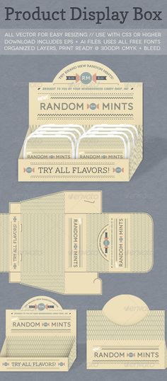 Product Display Box - GraphicRiver Item for Sale                                                                                                                                                      More