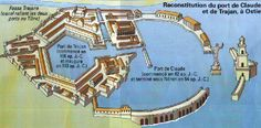Au final quand le port d'Ostie a été abandonné il y a été construit 2 autres ports séparés qui forment aujourd'hui le port d'Ostie.