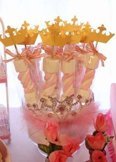 Ideas para Baby Shower Baby Shower para Principes y Princesas Disney Princess Birthday Party, Princess Theme Party, Baby Shower Princess, First Birthday Parties, Birthday Party Decorations, Party Themes, Party Ideas, Themed Parties, Princess Aurora Party