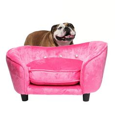 Enchanted Home Pet: Ultra Plush Snuggle Bed Pink, at 25% off!