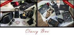 """This is for the Classy lady. The woman that appreciates her high-end toys that deliver much more """"bang"""" for her buck. We're talking sleek and sexy. Items that will be the centerpiece for an extra extravagent evening. Alone, or with a friend or two. The Sassy Box is going to have you craving more, more, more!"""