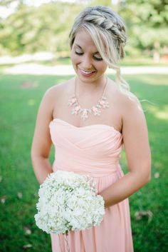 Southern weddings hold a special place in my heart, and today's darling southern wedding at Ashley Belle Landings, Georgia has that special place in my heart Gray Weddings, Southern Weddings, Blush And Grey, Pink Grey, Bridesmaids, Bridesmaid Dresses, Wedding Dresses, Blush Wedding Colors, Color Inspiration