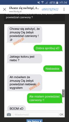 Sprawdźmy, czy działa... Funny Sms, Funny Text Messages, Wtf Funny, Funny Texts, Funny Animal Quotes, Hilarious Animals, Accounting Humor, Polish Memes, Funny Conversations
