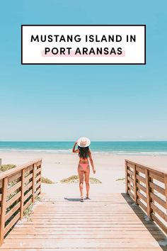 Mustang Island in Port Aransas in Corpus Christi by A Taste of Koko. Use this ultimate guide for your future trip! Included are some things you need to know as you plan your visit, and ways to enjoy your as much as possible. #portaransas #corpuschristi #visittexas Downtown Corpus Christi, Corpus Christi Texas, Blackened Redfish, Mustang Island, Travel Pictures, Travel Pics, Visit Texas, Port Aransas, Family Destinations