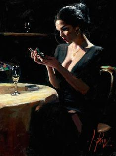 Fabian Perez art gallery, committed to offering great prices to the public. We specialize in Fabian Perez original paintings and limited edition prints. Fabian Perez, Woman Painting, Figure Painting, Sexy Painting, Pulp Art, Portrait Art, Erotic Art, Aesthetic Art, Female Art