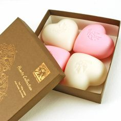 Pre de Provence Heart Soaps  #valentinesday