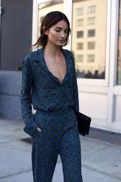 Trend Alert: Silk Pyjama Tops