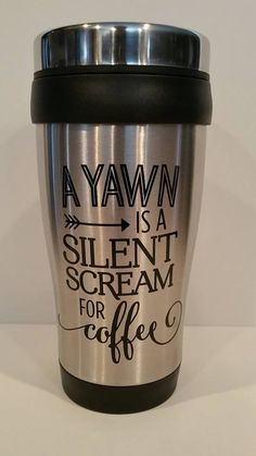 Stainless Steel Travel Tumbler/Coffee Mug