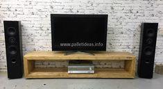 repurposed pallet tv stand #pallettvstands