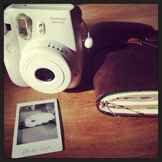 Midori Traveler's Notebook & Fujifilm Instax Mini 8