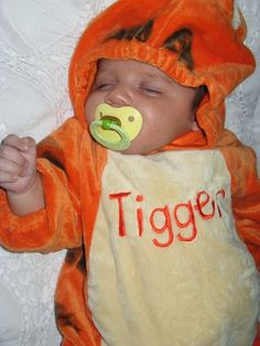 Isn't this just the sweetest Tigger you've ever seen?  happylifeofacitygirl.blogspot.com