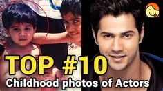 Top 10 Childhood Photos of Male Bollywood Actors #2