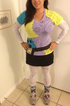 My girl Jules as Sally. She has the best run costumes!!!