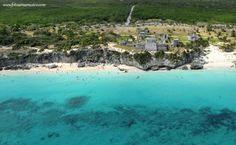 Metro Photo Challenge 2012, Daily Winner Mexico 2012-10-25 - Tulum from a Helicopter