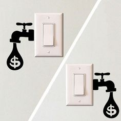 Electric Outlet Wall Decals