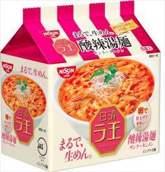 Nissin Raoh RAMEN Hot Sour soup  Noodle 酸辣湯麺
