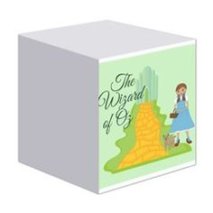 Cute Wizard of Oz notepad makes a cute Christmas gift stocking stuffer!