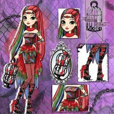Ever After High, Art Style Challenge, Meraculous Ladybug, Instagram Artist, High Art, Drawing Clothes, Monster High Dolls, Dark Side, Fashion Art
