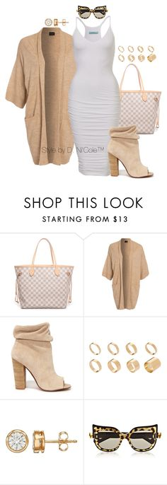 """Untitled #3275"" by stylebydnicole ❤ liked on Polyvore featuring Louis Vuitton, VILA, Kristin Cavallari, ASOS and Anna-Karin Karlsson"