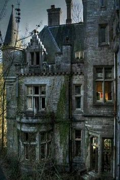 Abandoned castle in Ireland. Location unknown by leahpage8132