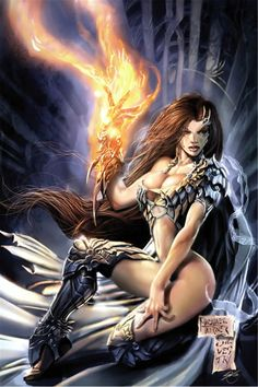 #Witchblade by Michael Turner & Marc Silvestri