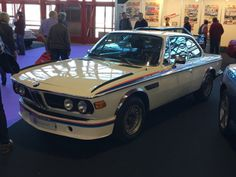 BMW 3.0 CSL Alpina  Classic Auto @ Madrid (Spain)