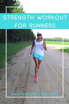 3 benefits how strength training can improve your running speed and performance plus a free workout! Strength Workout for Runners www.teamsamfitnes...