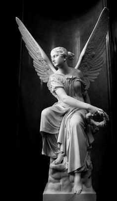 Statue of an Angel  sitting