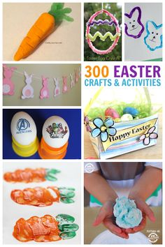300 Easter Crafts and Activities