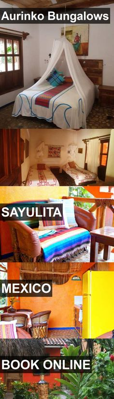 Hotel Aurinko Bungalows in Sayulita, Mexico. For more information, photos, reviews and best prices please follow the link. #Mexico #Sayulita #travel #vacation #hotel