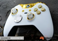 ModdedZone - Custom Modded Controllers for Xbox One, Xbox One Elite, and Nintedo Switch - ModdedZone Custom Xbox One Controller, Nintendo Controller, Xbox Games, Nintendo Games, Control Xbox, Manette Xbox One, Videogames, Consoles, Youtubers