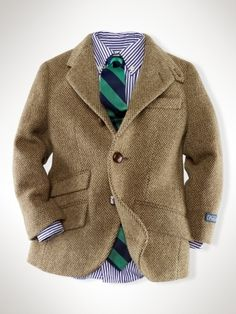A little man herringbone jacket... oh goodness. Wes Anderson Style