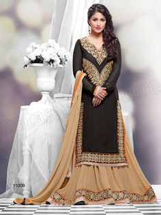 Bollywood Queen Heena Khan With Suits By Natasha Couture (1