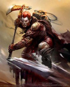 orc goblin hunter fighter warrior