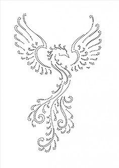 The Latest Trend in Embroidery – Embroidery on Paper - Embroidery Patterns Embroidery Cards, Beaded Embroidery, Embroidery Patterns, String Art Templates, String Art Patterns, Rhinestone Art, Card Patterns, Dot Patterns, Dot Art Painting