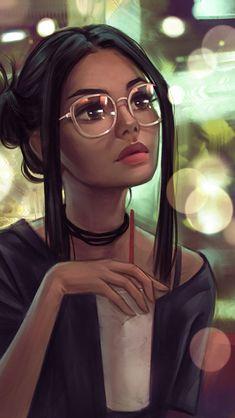 Cute Girl Drawing, Cartoon Girl Drawing, Girl Cartoon, Cute Cartoon, Art Anime Fille, Anime Art Girl, Cartoon Art Styles, Cute Art Styles, Digital Art Girl