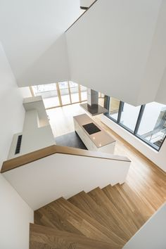 Atrium, New Homes, Stairs, Loft, Bed, House, Furniture, Home Decor, Architecture